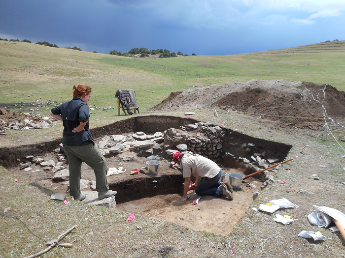 <p>Excavations at the medieval site of Tashbulak are co-directed by Michael Frachetti and Farhad Maksudov; research at the site is ongoing.</p>