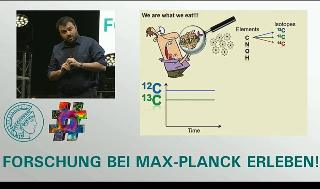 Fish makes you older - Ricardo Fernandes wins Max Planck Day 'Science Slam!'