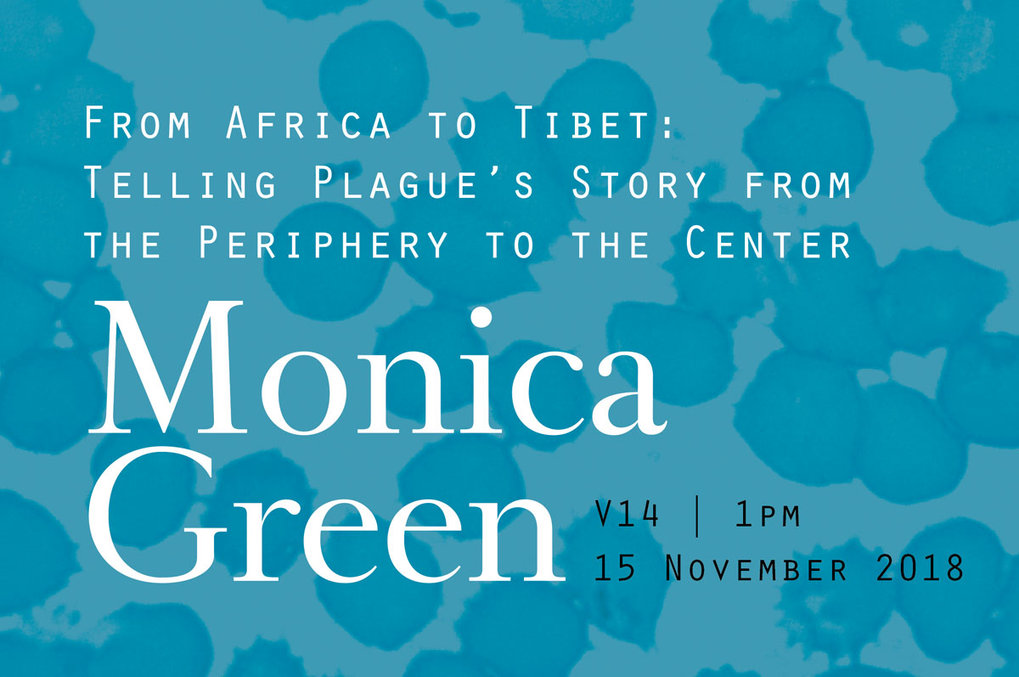 Date & Time: Nov. 15, 2018, 13:00Speaker:  Prof. Monica H. GreenRoom:  Villa V14Host:  Department of Archaeogenetics