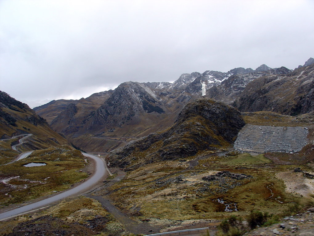 Road between Chavin and Huaraz, Peru.