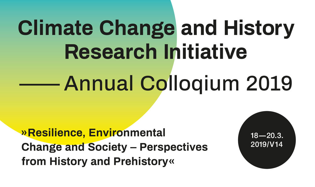 "The colloquim aims to bring together for the first time interdisciplinary projects on climate and environmental change that work on two different ""human pasts"": history and prehistory."