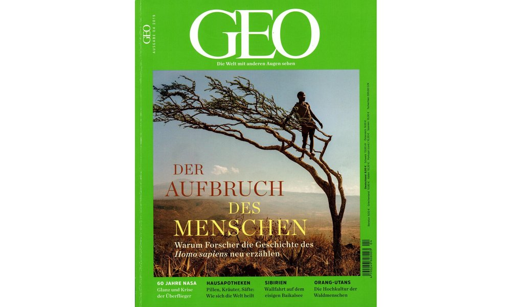 Dr. Patrick Roberts and Prof. Michael Petraglia of the Department of Archaeology, Max Planck Institute for the Science of Human History feature in this month's issue of GEO for their work on Homo sapiens' adaptations and migration routes out of Africa.