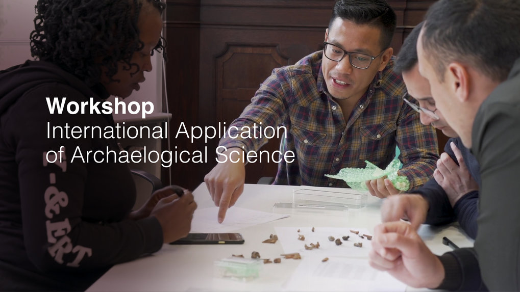 Many thanks to all of the participants of the 2019 International Application of Archaeological Science Workshop for making this such a successful event! Watch the video at the link for a review of this year's training program. We look forward to next year!