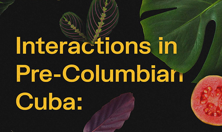 Workshop: Interactions in pre-Columbian Cuba. Adding detail to the transition from the Archaic to the Ceramic Age