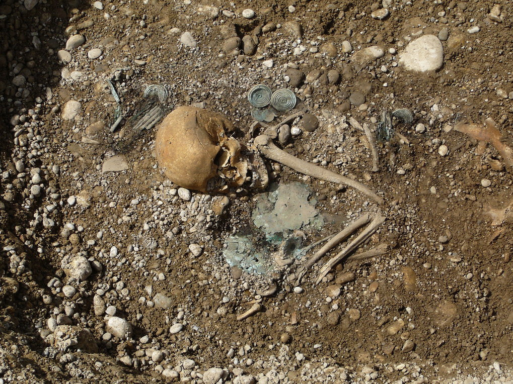 High-status and non-local female burial from the site of Kleinaitingen