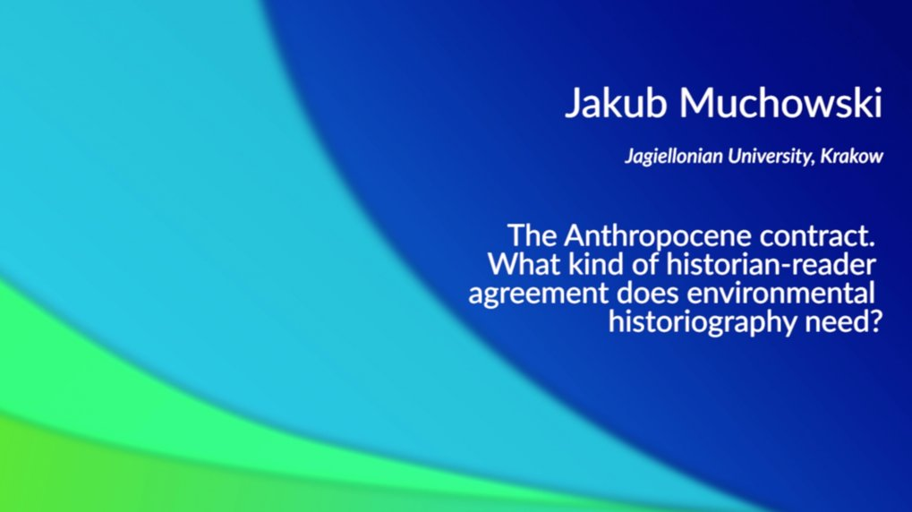 The Anthropocene Contract