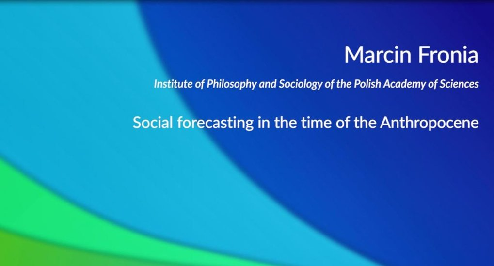 Social forecasting in the time of the Anthropocene