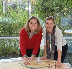 "With their research project ""Heirloom Microbes: The History and Legacy of Ancient Dairying Bacteria"", Dr. Jessica Hendy (right) and Dr. Christina Warinner (left) have won the Max Planck Society's Annual Donation Award 2017."