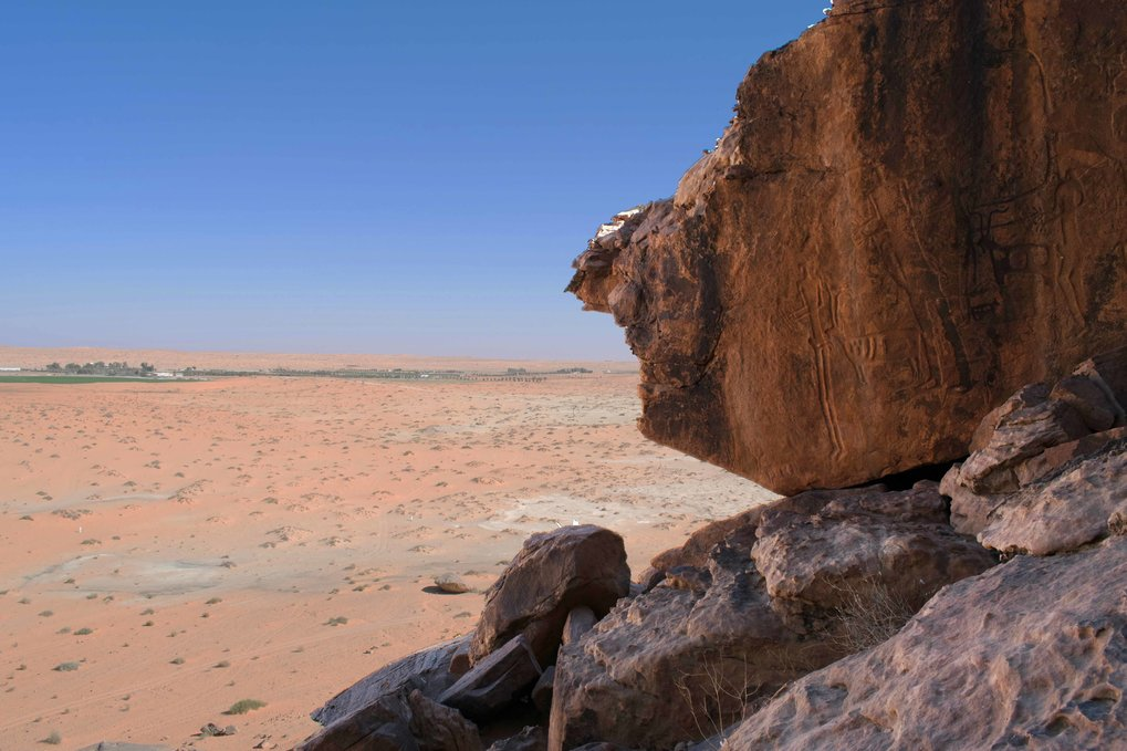 When did humans begin to herd animals in Saudi Arabia and how did these herders respond to the onset of aridification in the middle Holocene? The Palaeodeserts Project is taking a multidisciplinary approach, in which data from the excavation of settlement and burial sites, rock art, palaeoenvironmental and –climate archives, and climate modeling are used to close a substantial gap in our current knowledge of the prehistory of the Arabian Peninsula.