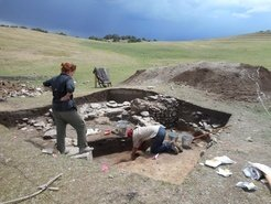 <p>Ongoing research excavations at the medieval village of Tashbulak in the Pamir Mountains of Uzbekistan, representing an ongoing research collaboration between the Max Planck Institute and Washington University in St. Louis.</p>