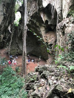 Excavations at Panga ya Saidi cave in Kenya by a joint team from the Max Planck Institute for the Science of Human History and the National Museums of Kenya.