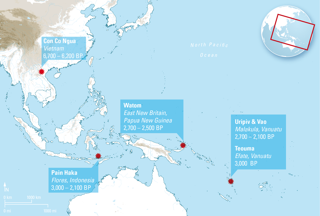 Where Is Vanuatu Located On A World Map.Vietnam To Vanuatu Dental Calculus And The Austronesian Expansion