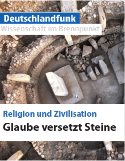 German radio feature devoted to the links between religion and civilisation with participation of Russell Gray. (Originally aired on Dec 26, 2016, online available until July 4, 2017)