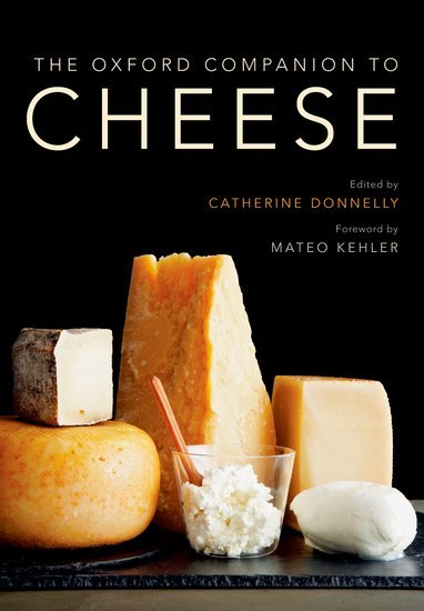 The Oxford Companion to Cheese wins 2017 James Beard Foundation Book Award