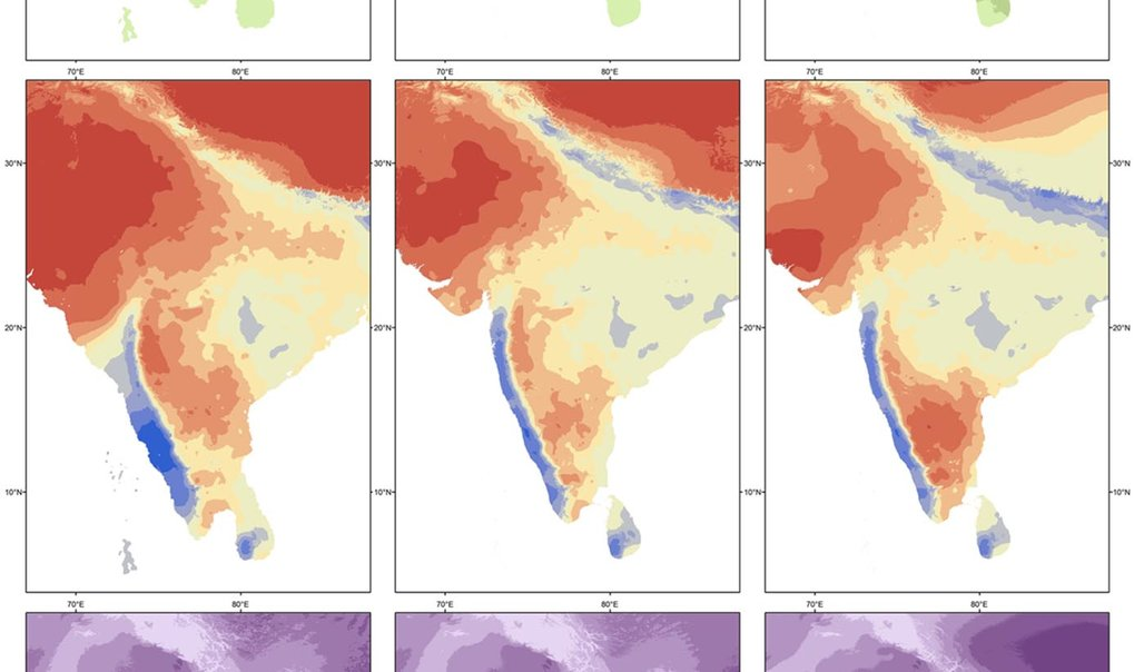 """A transect of environmental variability across South Asia and its influence on Late Pleistocene human innovation and occupation,"" examines climate change as a driver of evolution and innovation."
