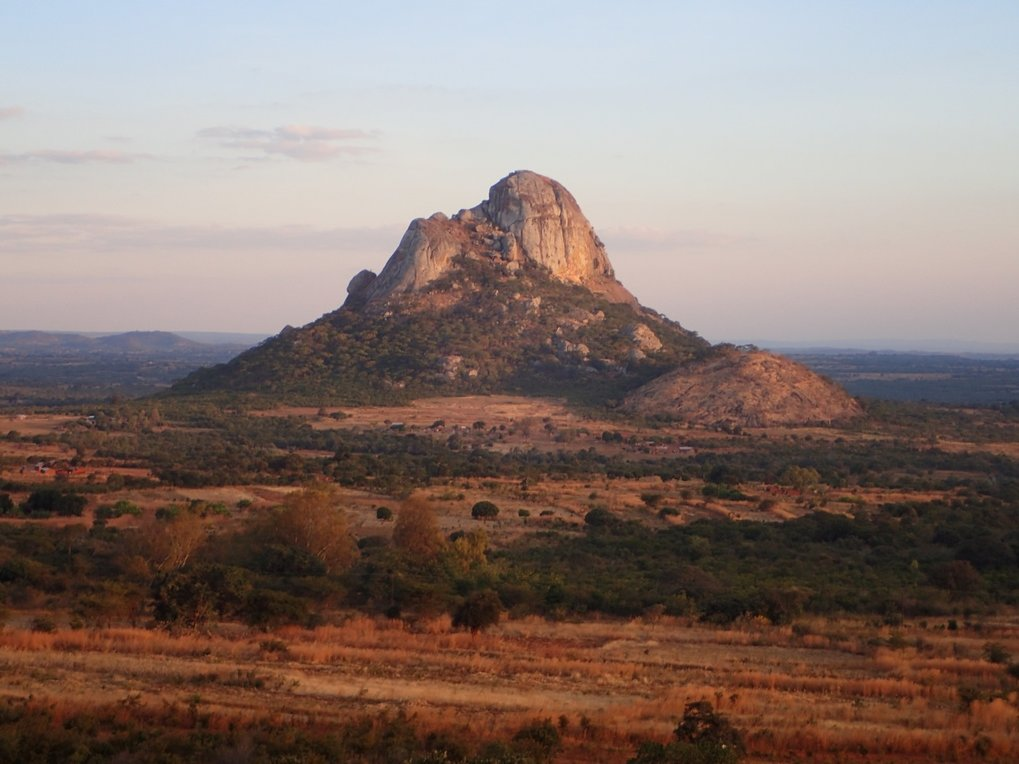 Mount Hora in Malawi, where the oldest DNA in the study, from a woman who lived more than 8,000 years ago, was obtained.
