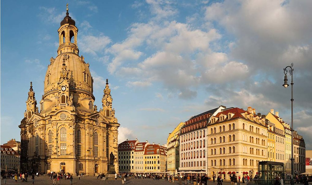 A typical Central European - The genome of the architect of the Dresden Frauenkirche deciphered