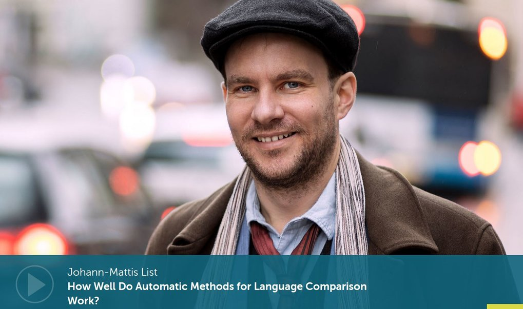 In a new video from Latest Thinking, Johann-Mattis List describes his research on automatic methods of language comparison, which have reached a level of performance that allows linguists to use them as a pre-screening tool.