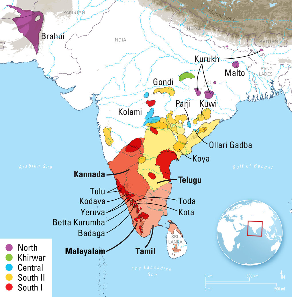 New linguistic analysis finds that Dravidian language family