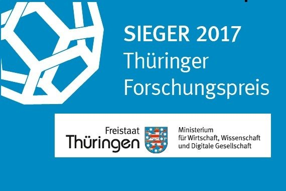 On April 25, 2017, Prof. Dr. Johannes Krause from the Max Planck Institute for the Science of Human History in Jena was awarded the Thuringian Research Prize for Top Performance in Basic Research by the Thuringian Ministry of Economy, Science and the Digital Society.