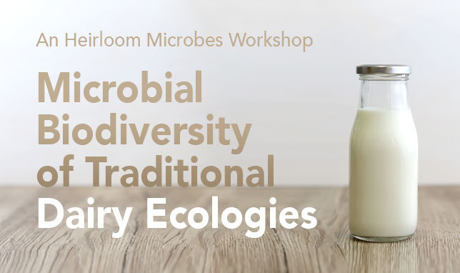 Heirloom Microbes Project WorkshopDate: June 17-20, 2018Room: Villa V03Host: Heirloom Microbes Project