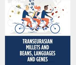 Transeurasian millets and beans, language and genes