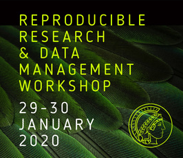 Reproducible Research and Data Management workshop